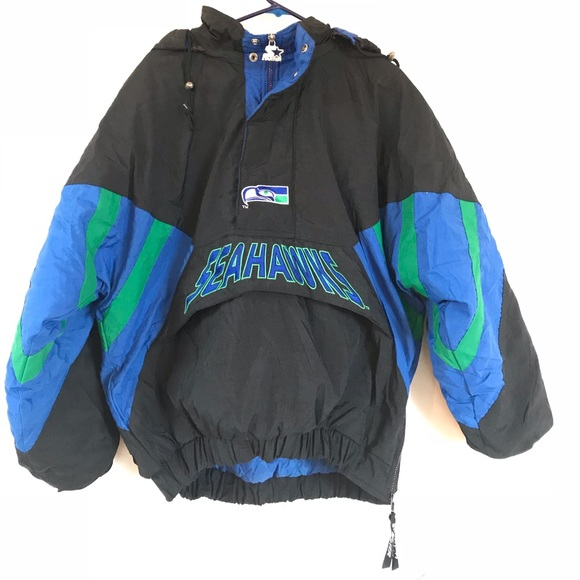 the best attitude bd171 b4abf '90s Seattle Seahawks Starter pullover VINTAGE